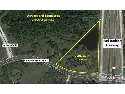 College Station Residential Lots & Land For Sale: 2600 Earl Rudder Freeway