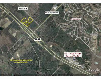 Bryan , College Station  Residential Lots & Land For Sale: 6100 Foundation Place Drive