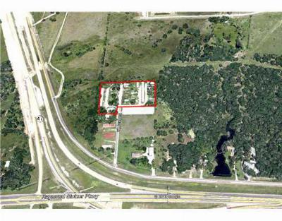 College Station Commercial For Sale: 8822 Burgess