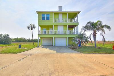 Port Aransas Single Family Home For Sale: 14717 La Concha