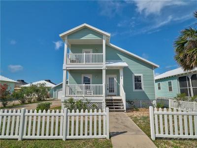 Port Aransas Single Family Home For Sale: 146 Beachwalk