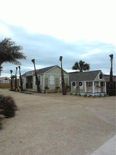 Port Aransas Single Family Home For Sale: 2113 State Hwy 361 Hwy #1