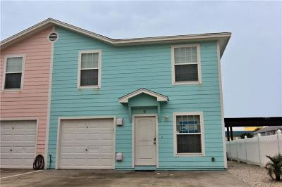 Port Aransas Condo/Townhouse For Sale: 604 Beach Access Road 1a #6-B