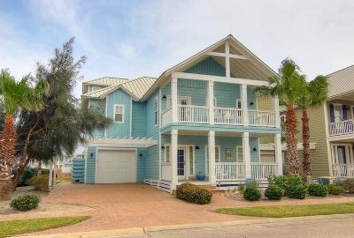 Port Aransas Single Family Home For Sale: 198 Bent Grass Dr