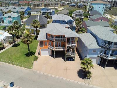 Port Aransas Single Family Home For Sale: 2057 Sand Point Circle