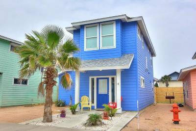 Port Aransas Condo/Townhouse For Sale: 2606 S 11th St #4