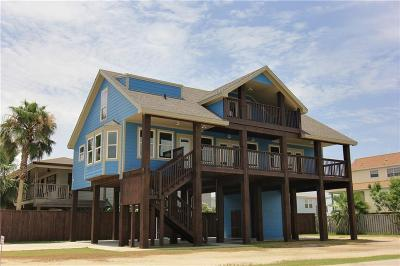 Port Aransas Single Family Home For Sale: 661 Dolphin Circle