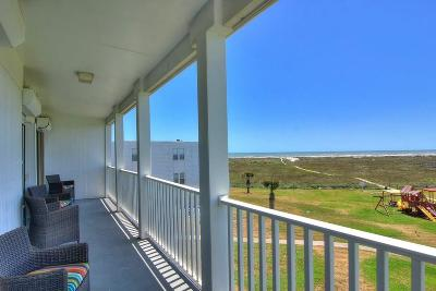 Port Aransas Condo/Townhouse For Sale: 1107 11th St #155