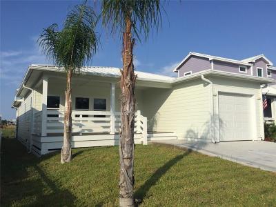 Port Aransas Single Family Home For Sale: 128 Beachwalk Lane