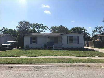 Corpus Christi Single Family Home For Sale: 614 Chase Dr
