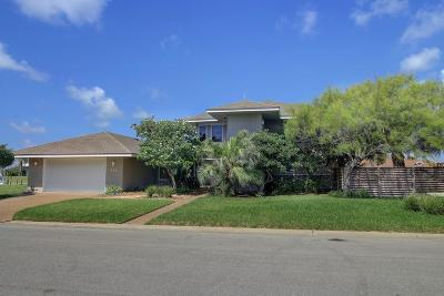 Nueces County Single Family Home For Sale: 349 Bahia Mar
