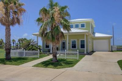 Port Aransas Single Family Home For Sale: 118 Five Dove