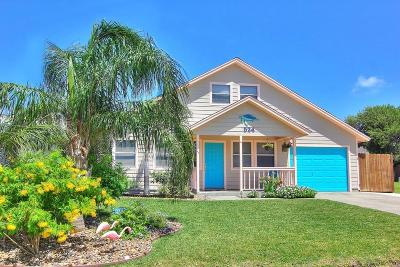Port Aransas Single Family Home For Sale: 524 Aransas Channel