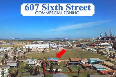 Port Aransas Single Family Home For Sale: 607 Sixth St