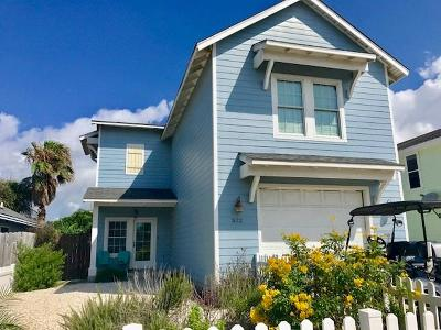 Port Aransas Single Family Home For Sale: 522 Rockport Channel