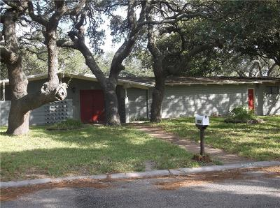 Aransas Pass Single Family Home For Sale: 1514 Kenwood Dr