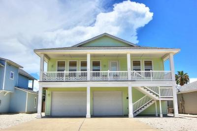 Port Aransas Single Family Home For Sale: 518 Rockport Channel