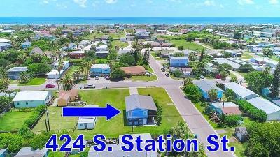 Port Aransas Single Family Home For Sale: 424 S Station St