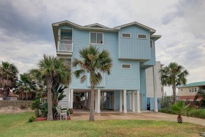 Port Aransas Single Family Home For Sale: 414 E Roberts Ave