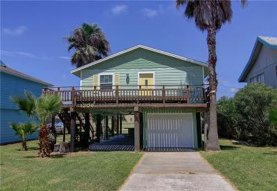 Port Aransas Single Family Home For Sale: 1206 Sea Secret St
