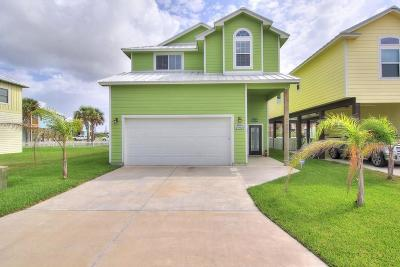 Port Aransas Single Family Home For Sale: 491 Paradise Pointe Dr.