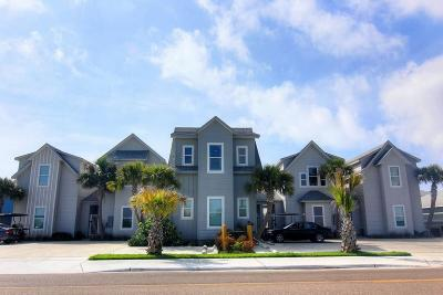 Port Aransas Condo/Townhouse For Sale: 2821 Eleventh St 102 #102
