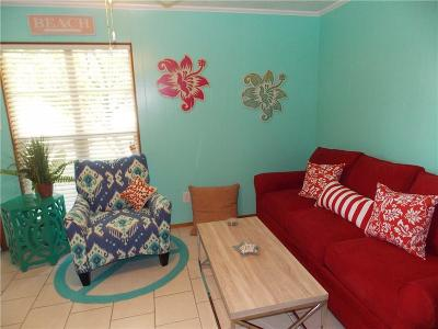 Port Aransas Condo/Townhouse For Sale: 2025 S 11th St #12