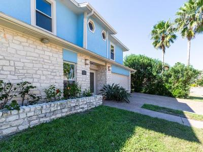 Port Aransas Single Family Home For Sale: 441 Marina