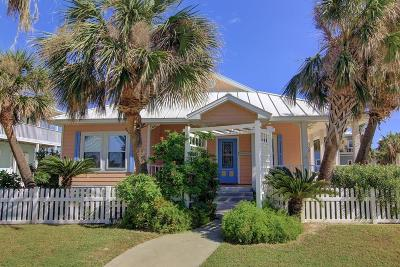 Port Aransas Single Family Home For Sale: 193 Mustang Royale
