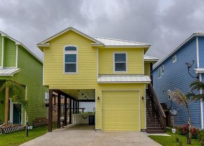 Port Aransas Single Family Home For Sale: 495 Paradise Pointe Dr