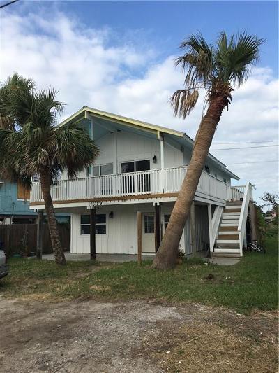 Port Aransas Single Family Home For Sale: 519 Sand Burr Lane