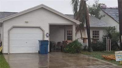 Port Aransas Single Family Home For Sale: 206 Glendale St