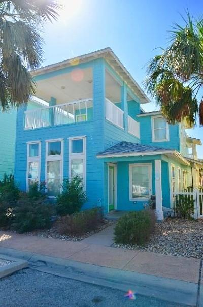 Port Aransas Condo/Townhouse For Sale: 2525 S 11th St #33