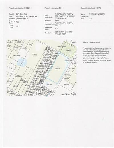 Corpus Christi Residential Lots & Land For Sale: 1337 Waldron