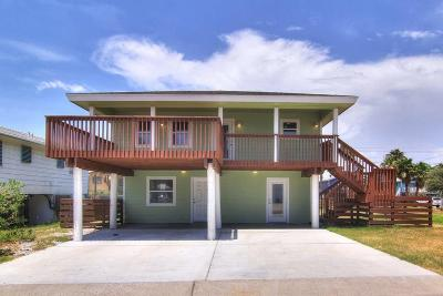 Port Aransas Single Family Home For Sale: 1124 Sea Secret St