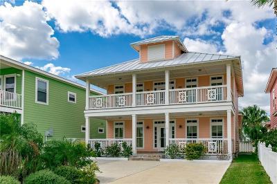 Port Aransas TX Single Family Home For Sale: $565,000