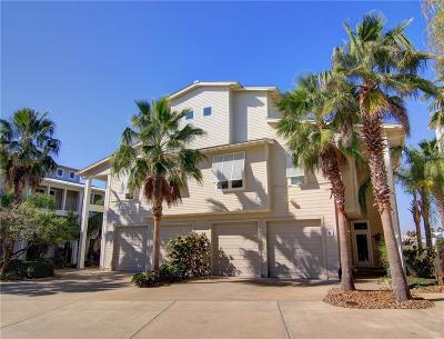 Port Aransas Condo/Townhouse For Sale: 3700 Island Moorings Parkway #6