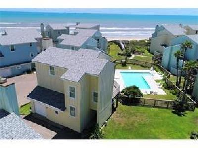 Port Aransas Condo/Townhouse For Sale: 6871 State Highway 361 #14