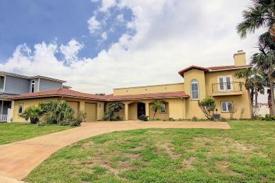 Port Aransas TX Single Family Home For Sale: $874,900