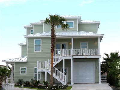 Port Aransas Single Family Home For Sale: 126 Mustang Royale