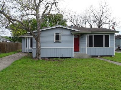 Corpus Christi TX Single Family Home For Sale: $123,900
