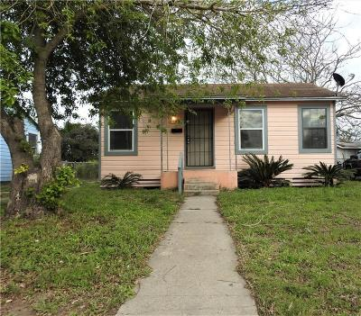 Corpus Christi Single Family Home For Sale: 1038 Manchester Ave