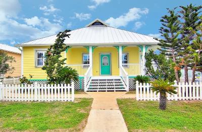 Port Aransas Single Family Home For Sale: 115 Beachwalk