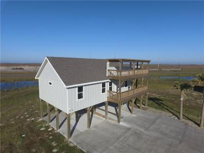 Port Aransas Single Family Home For Sale: 165 Breezy Ct