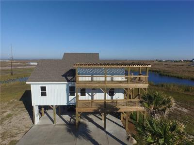 Port Aransas Single Family Home For Sale: 166 Breezy Ct