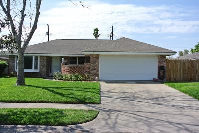 Corpus Christi TX Single Family Home For Sale: $170,000