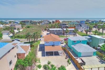 Port Aransas Single Family Home For Sale: 528 S 12th St