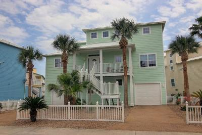Port Aransas Single Family Home For Sale: 289 Keewaydin