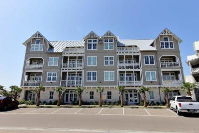 Port Aransas Condo/Townhouse For Sale: 160 Social Circ #2-201