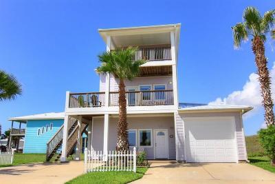 Port Aransas TX Single Family Home For Sale: $589,000
